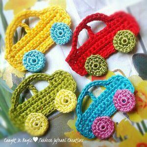 Crochet Fridge Magnets
