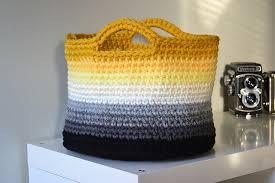 Crochet File holder