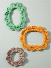 Crochet Photo Frame