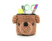 Crochet Pen Stand